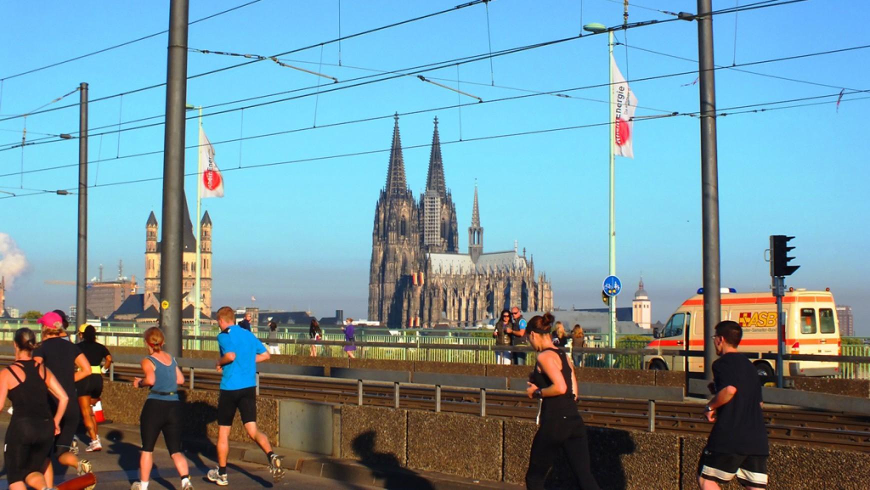Erfolgreicher Köln-Marathon