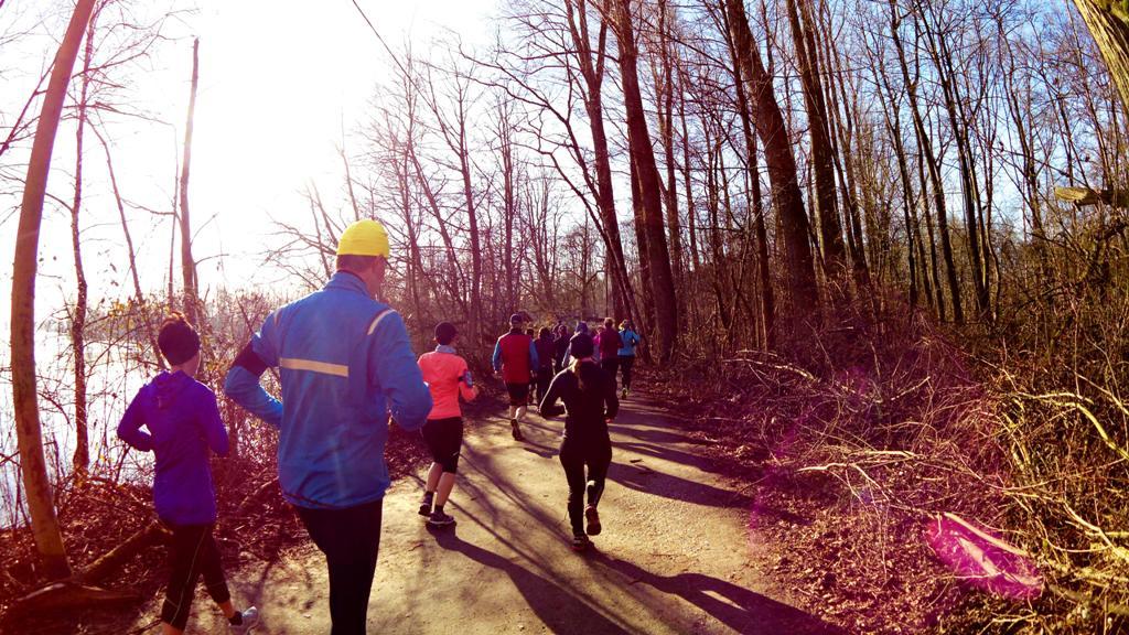Lauftreff: 1. langer Lauf am Unterbacher See