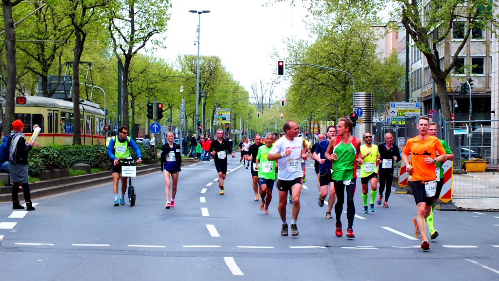 Düsseldorf Marathon 2015