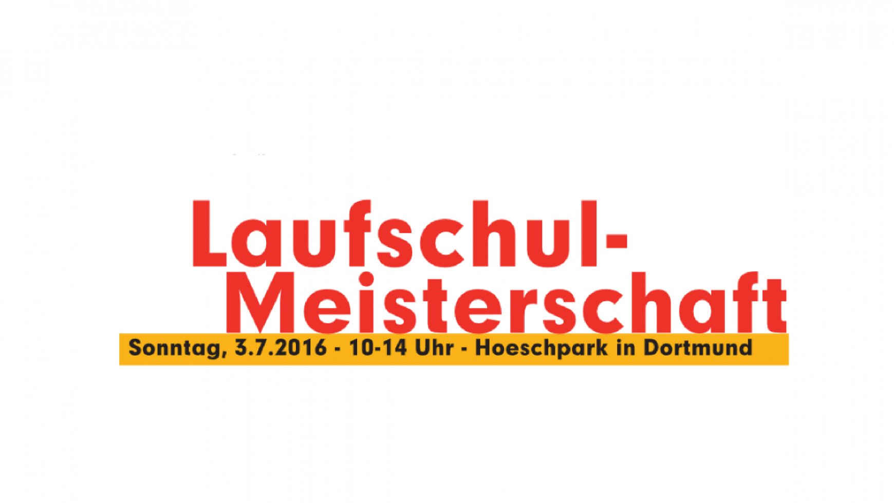 1. Laufschul-Meisterschaften