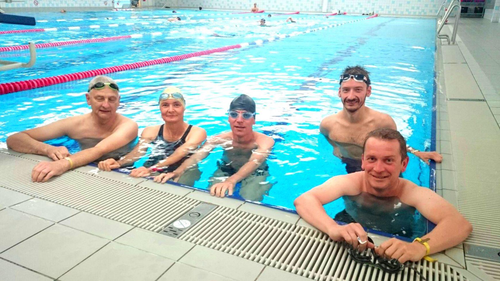 Der erste Schwimmkurs