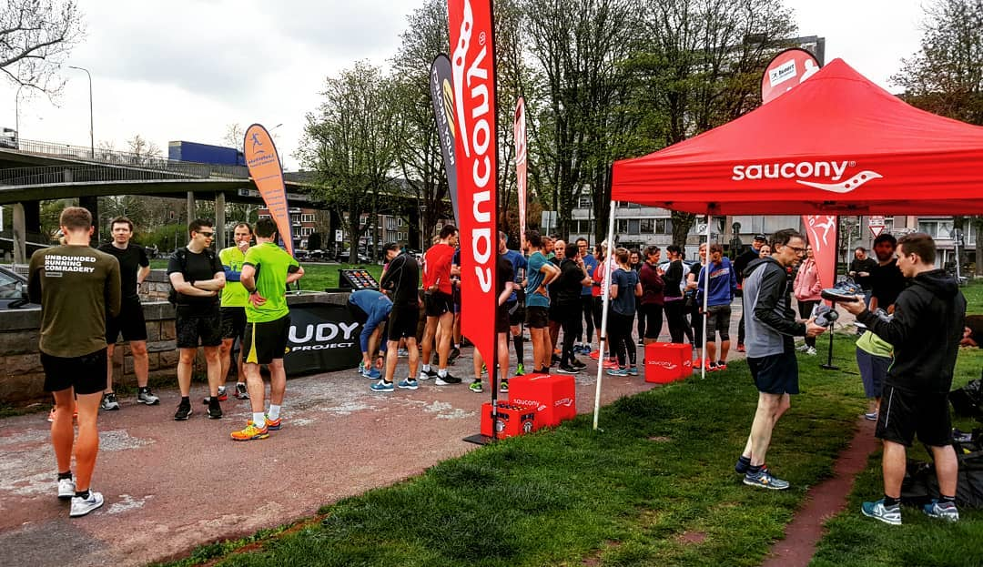 Testaktion mit Saucony & Rudy Project